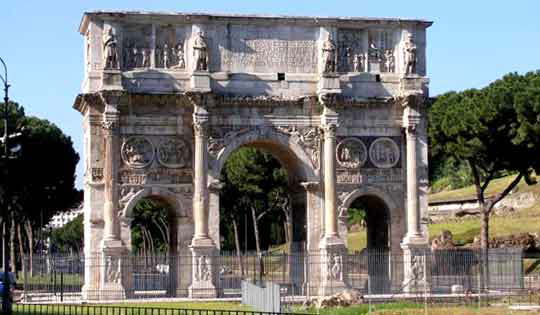 Arch of Constantine 3